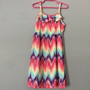 Colorful Tie Dye Dress Sz 6/6x